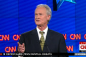 Chafee fumbles on Glass–Steagall question