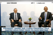 Obama, Castro hold face-to-face meeting