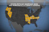 Pressure on Dems to end same-sex marriage...