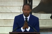 Jamie Foxx to young Americans: Keep it up