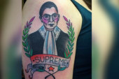 Ginsburg thought tattoo was a 'joke'