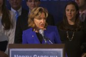Kay Hagan admits defeat in North Carolina