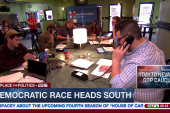 Democratic race heads South