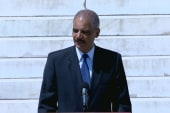 Holder: 'Their march is now our march'