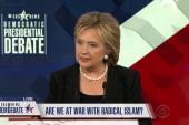 Clinton stops short of naming 'Radical Islam'