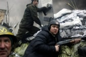 Brief truce in Ukraine explodes into violence