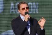 Leonardo DiCaprio: 'The world is watching'