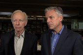 Lieberman, Huntsman on bipartisan progress
