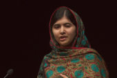 Malala speaks on Nobel Peace Prize