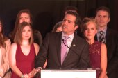 Greg Orman gives emotional concession speech
