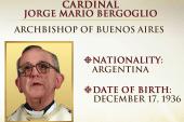 Cardinal Jorge Mario Bergoglio named pope