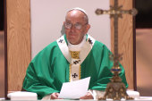 Pope leads Mass at Madison Square Garden