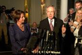 Reid, Pelosi: We're 'locked in' on Obamacare