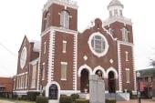 Inside Brown Chapel on the Selma anniversary