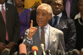 Sharpton: this isn't a cause but their child
