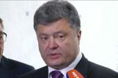 Ukrainian president pushes for peace