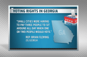 Georgia GOP trying to cut early voting short