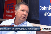 Kasich: 'People are frustrated'