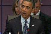 Obama delivers opening remarks of NATO summit