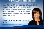 What will Michelle Obama say in her DNC...