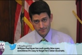 Ryan, McCaskill reads mean tweets about them