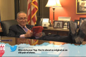 Schumer, other politicos read mean tweets