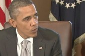 Obama: Congress playing politics with FAA