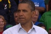 Obama previews jobs speech at union rally