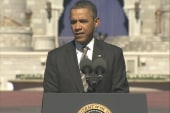 Obama pushes tourism with Disney World speech
