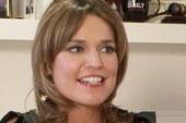 Today's Savannah Guthrie talks politics,...