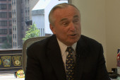 LAPD chief Bill Bratton on 'Stop and Frisk'
