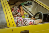 She drives a taxi in spite of the Taliban