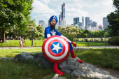 Turbaned Captain America wants to change U.S.