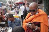 Myanmar goes mad for cell phones