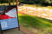 Monument Quilt provides healing for many