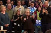 Albright addresses women voters