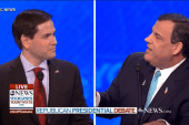 Christie shakes Rubio on Senate record