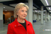 Clinton on email scandal: 'I want it...