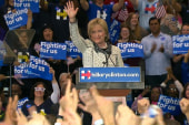 Full speech: Clinton declares victory