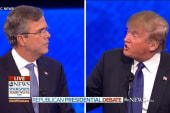 Jeb hits Trump over eminent domain