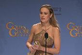 'Room' newcomer wins Best Actress Golden...