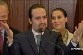 Broadway star calls on Congress