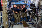 Scott Kelly pays NASA tribute from space