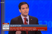 Rubio: Tax increases don't solve problems