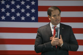 Rubio: 'On my first day in office...'