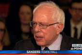 Sanders on Trump campaign 'inciting violence'
