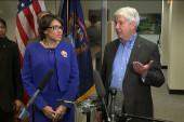 Michigan governor addresses water crisis...