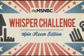 A post-debate Whisper Challenge