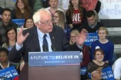 Sanders to Trump: I also went to the bathroom