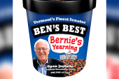 There's a Bernie Sanders ice cream flavor